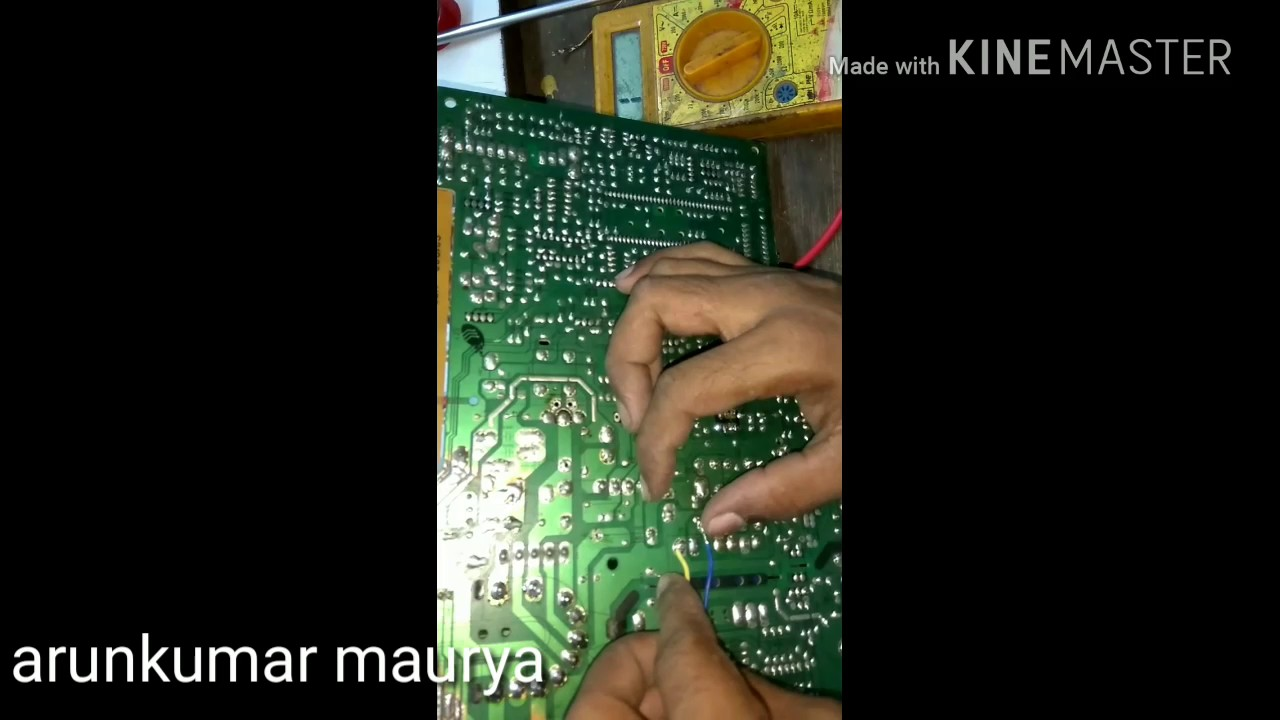 How To Install Five Wire Oscillator Circuit In Crt Tv Power Supply Wiring Diagram Step By Description