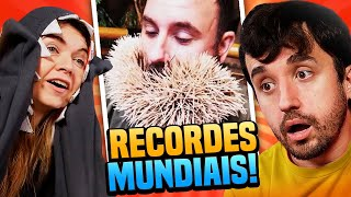 OS RECORDES MAIS BIZARROS DO MUNDO!