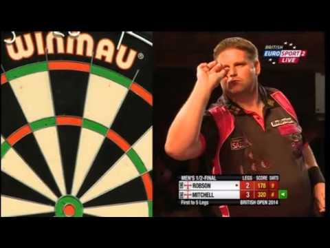 BDO British Open 2014 - Men's Semi Final - Gary Robson vs. Scott Mitchell