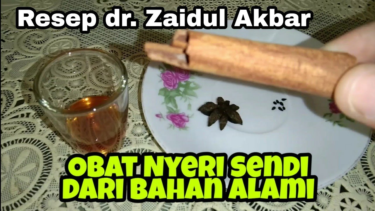 Mengatasi Nyeri Sendi dengan Minuman JSR resep dr. Zaidul Akbar