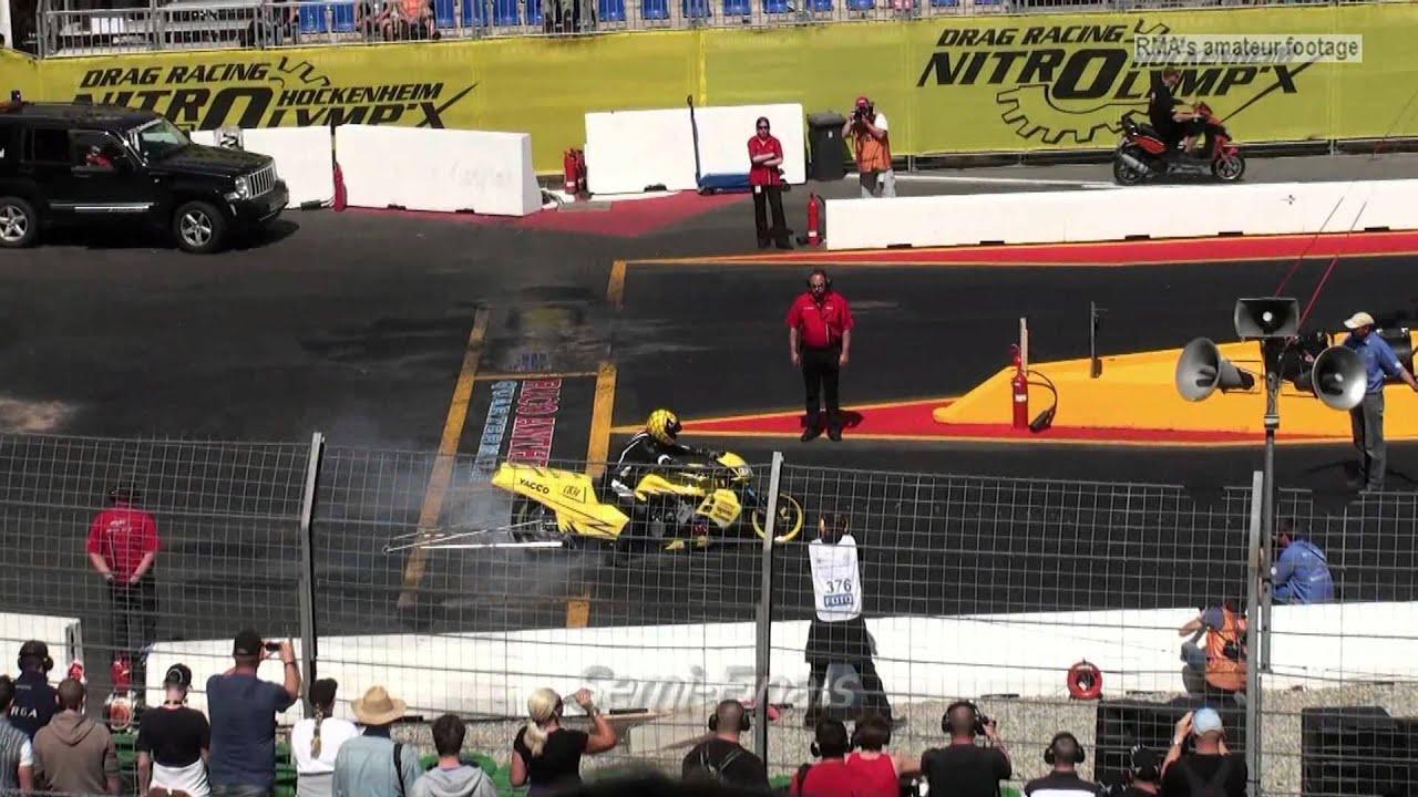 Drag Racing 2012 Funny Bike Eliminations Nitrolympx Hockenheim