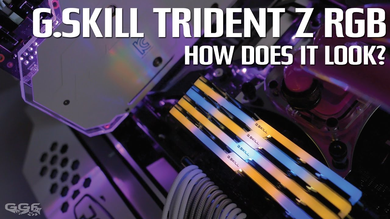G Skill Trident Z RGB - How does it look?