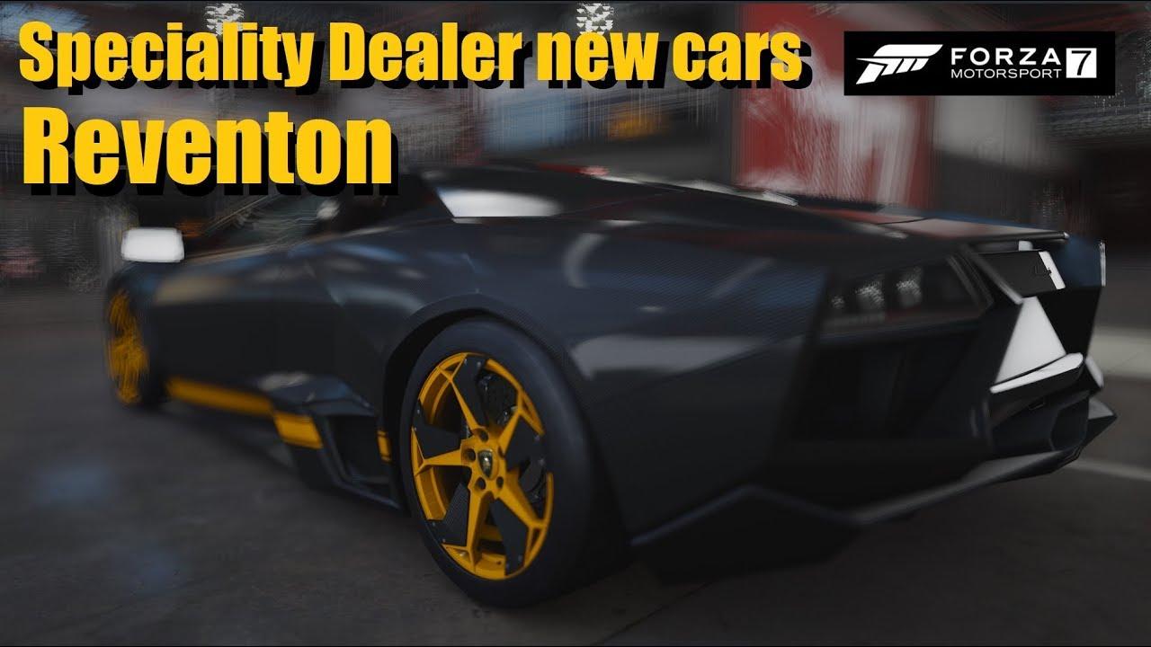 Special Dealer New Cars And Lamborghini Reventon Forza 7 Youtube