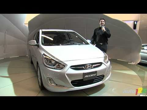 2012 Hyundai Accent unveiled at Montreal Auto Show
