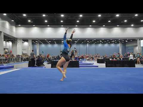 Abigail Johnston - Floor Exercise - 2018 Women's Junior Olympic National Championships