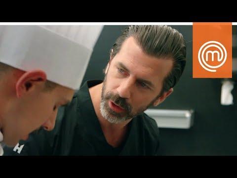 Simone, Alberto e Kateryna vengono bacchettati dallo chef Caminada | MasterChef Italia 7