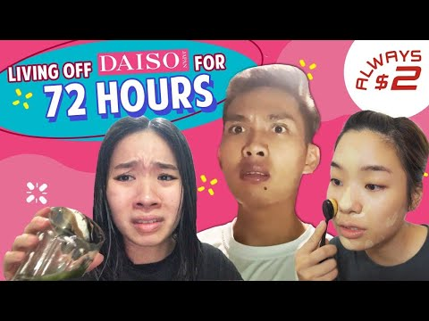 Singaporeans Try: Living Off Daiso Products For 72 Hours