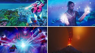 ALL FORTNITE LIVE-EVENTS (Seasons 1-14 INCLUDING *GALACTUS* EVENT)