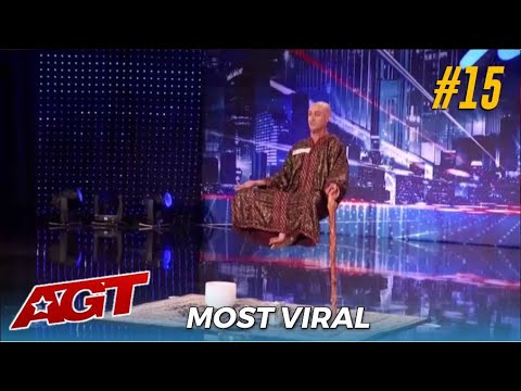 #15 Most Viral Audition: The LEVITATION Man Special Head