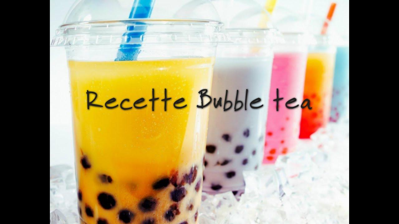 Recette Bubble Tea Youtube