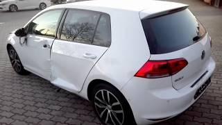 Auta Z Niemiec Volkswagen Golf VII TSI  Ganz Kaput Total Schaden hahaha