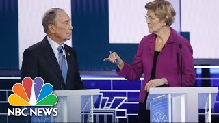 Elizabeth Warren Attacks 'arrogant Billionaire' Michael Bloomberg Over Treatment Of Women | Nbc News