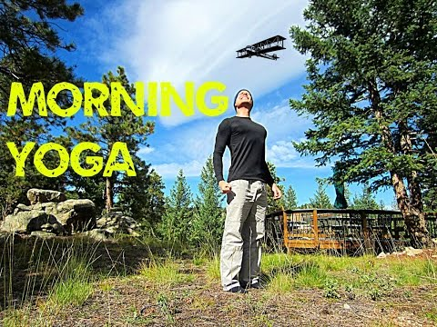 Morning Yoga for Beginners - 12 min Stretch Routine #morningyoga
