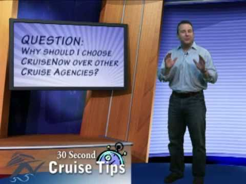 Choosing CruiseNow.com over other travel agencies. Cruise Tips
