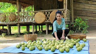 Tasty Fresh Wood Apple in my homeland  - Polin Lifestyle