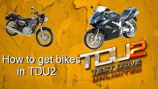How To Get DLC Bikes In TDU2 | DexonDenz