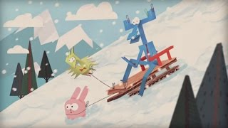 Бумажки - Снег идёт. Серия 67. Новогодние поделки. Снеговик. Мультик оригами. Творчество с детьми.