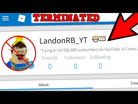 THE REASON WHY LandonRB_YT'S ACCOUNT WAS DELETED!