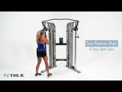 TRUE Workout Series - Functional Trainer Core Workout