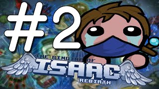 Lazarus VS ISAAC!? - The Binding of Isaac: Rebirth! (EP 2)