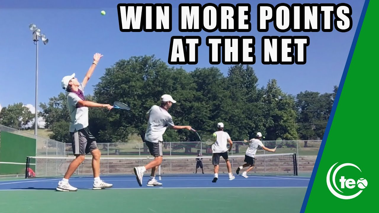 How To Win More Points At The Net : TENNIS TACTICS