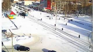 г. Прокопьевск, веб-камера на «Снежинке», ноябрь 2011