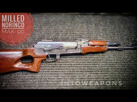 Milled MAK-90 AK-47 Rifle:  Disassembly & Overview