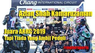 PELUMBA SUPERBIKE AZLAN SHAH KAMARUZAMAN   Juara ARRC Kategori ASB1000cc   Kecewa Tak Diendahkan