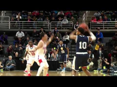 Saginaw Arthur Hill vs. Lansing Everett  2015 Class A Boys Basketball Semifinal