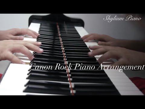 Rock Canon Piano Version after Japan Composer Prof.Takushi Koyama