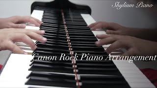 Crazy! China Boy plays Rock Canon Piano Version after Japan Composer Prof.Takushi Koyama