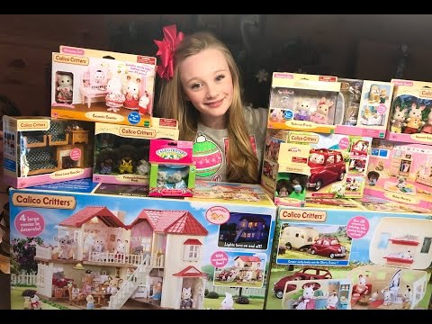 Calico Critters/Sylvanian Families Unboxing Mega Toy Haul From Toys R Us W/ Princess Ella Toy Review