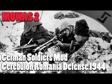 Men of War: Cerebulon Romanian Defense - German Soldiers Mod Defense Mission