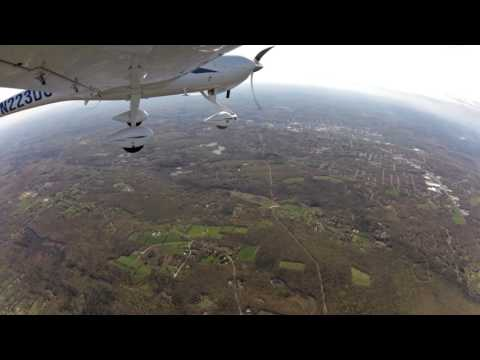 Diamond DA20-C1 - N223DC - Full Flight  to 1B1 - Columbia County