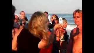 رقص برازيلي على البحر