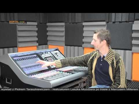 Piotr Taraszkiewicz wywiad - SSL Live L300 i L500 na trasie Leszek Możdżer   Marcus Miller