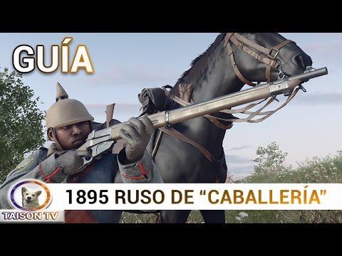 Battlefield 1 Ruso 1895 de Caballería y Trinchera Guía y detalles