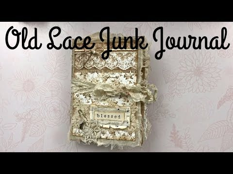 Paper Bag Junk Journal | Stamperia Old Lace