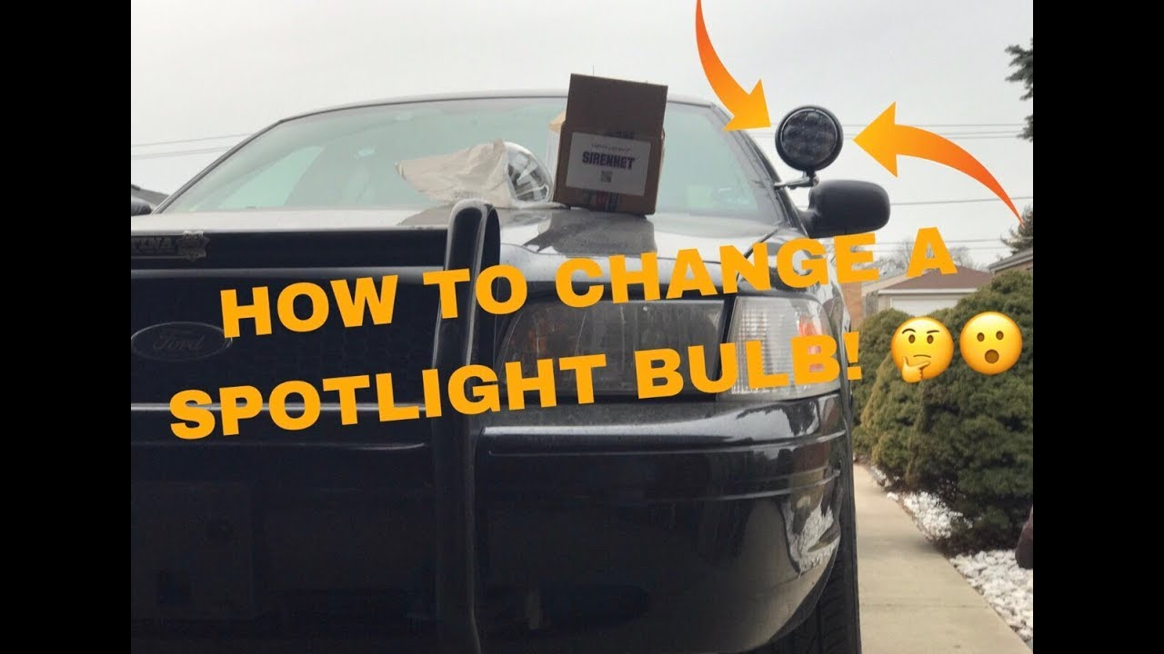 How To Change A Spotlight Bulb Youtube