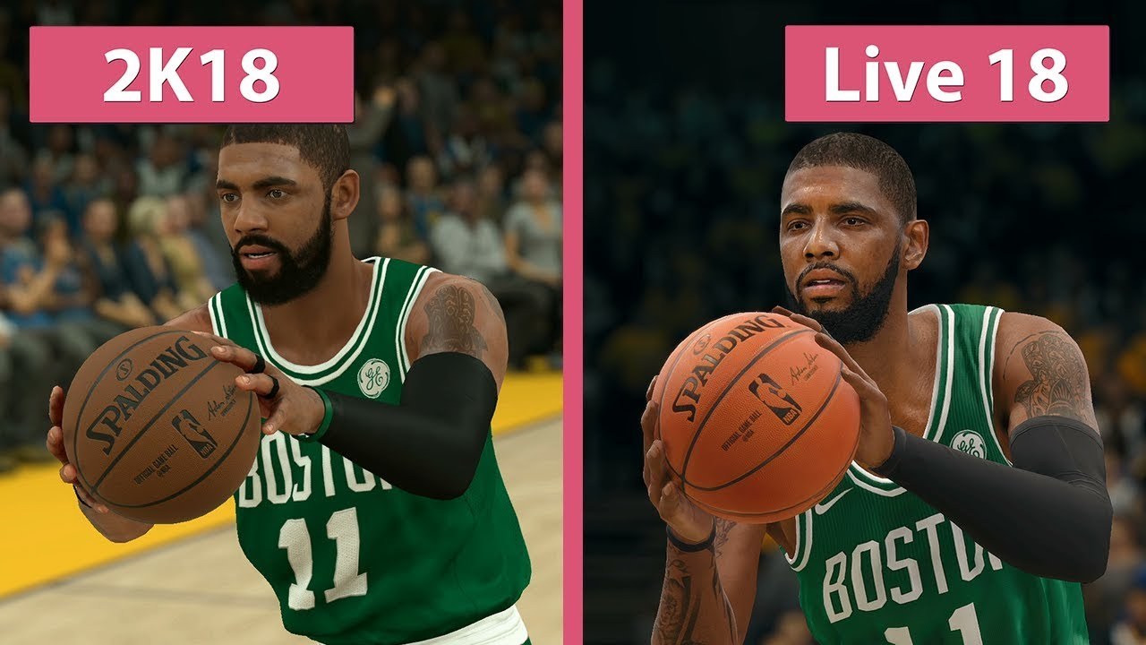 5b4a6c2f05a NBA 2K18 vs. NBA Live 18 Graphics Comparison on PS4 - YouTube