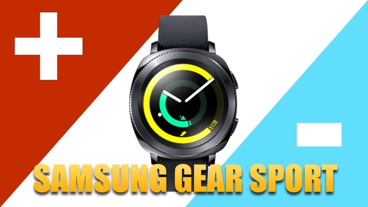 Samsung Gear Sport: 3 PLUSY i 3 MINUSY