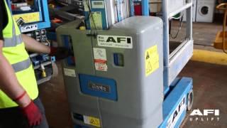 AFI MEWP Familiarisation videos Genie GR12, GR15, GR20