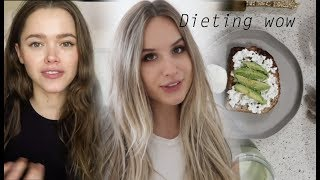 I tried eating like VALERIA LIPOVETSKY FOR A DAY *great success  (model/ mommy/holistic nutritionist