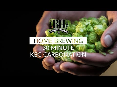 Homebrew Experiment: Force Carb Kegs In 30 Minutes
