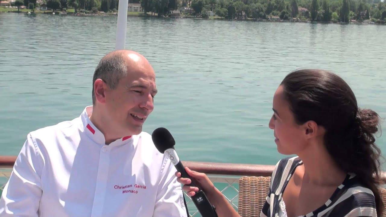 Interview de Christian GARCIA, Chef de Son Altesse Sérénissime le Prince Albert II,  Monaco