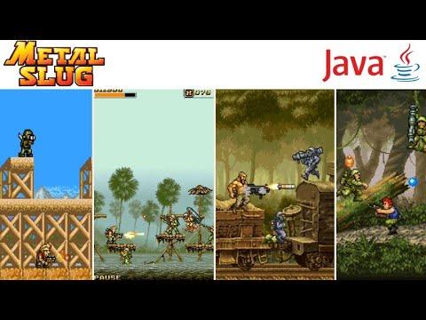 Metal Slug Series For Java Mobile