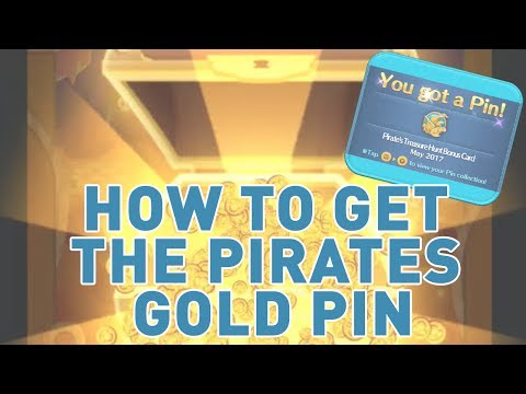 Disney Tsum Tsum: Walkthrough Pirates Treasure Hunt Bonus Event Card And How To Get The Gold Pin