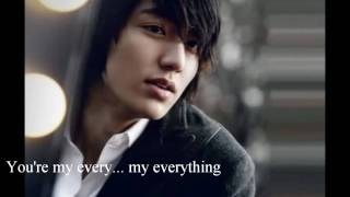 Lee Min Ho My Everything Eng. Subtitles