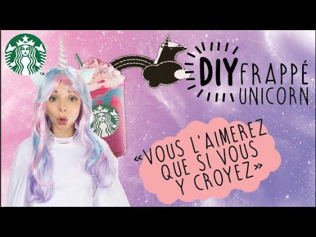 LPDV #106 DIY LA BOISSON LICORNE DE STARBUCKS