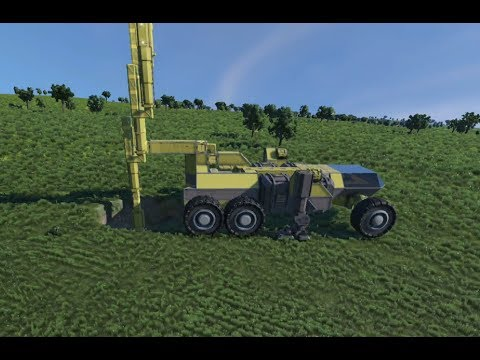 Space Engineers - Mobile Drilling rig v2